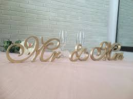 mr mrs sign for wedding table weddings signs ampersand sign and wedding mr and mrs stable