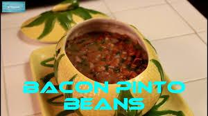 bacon pinto beans frijoles pinto con tocino youtube