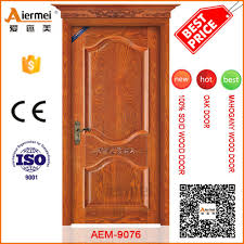 Door Pattern Solid Core Wood Skin India Main Door Design Apartment Entry Door