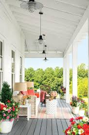 Summer Porch Decor by Porch And Patio Design Inspiration Southern Living