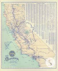 wall mural poster old vintage antique maps california train vintage