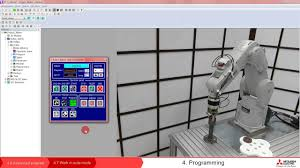 robot melfa programming u2013 lesson 4 7 work in automatic mode youtube