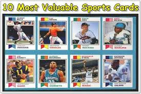top 10 most valuable sports cards sold