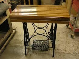 Repurpose Old Furniture by Handmade Repurposed Old Sewing Machine Legs By New Refurbish