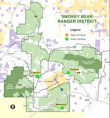 Alamogordo New Mexico Map by Lincoln National Forest Forest Products Permits