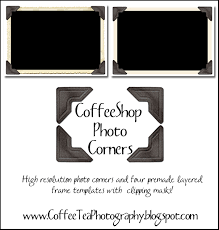 the coffeeshop blog coffeeshop photo corners and frame templates