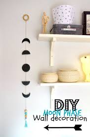 nostalgiecat moon phase wall decoration diy inspiration wall
