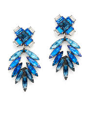 dannijo earrings orman chandelier earrings by dannijo for 60 rent the runway