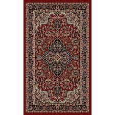 Brown Throw Rugs Shop Style Selections Daltorio Red Rectangular Indoor Woven