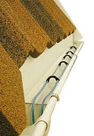 Insulation In Ceiling by Gutters And Roof Drains Nexans