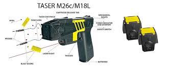 cartridges taser gun amazon com taser x26c m26c replacement cartridges 2 pack sports