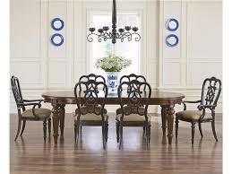 Dining Room Arm Chairs by Thomasville Fredericksburg Oval Dining Table With Two 20