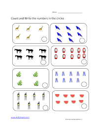 kidz worksheets preschool counting worksheet11