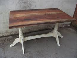 Shabby Chic Dining Table For Sale by Shabby Chic Dining Oak Draw Leaf Table With 4 Chairs For Sale