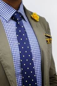 men u0027s olive cotton blazer white and blue gingham dress shirt