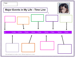 my life time line template k 5 computer lab technology lesson