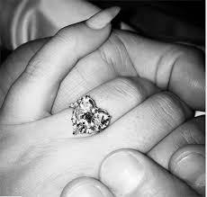 ring engaged gaga s epic engagement ring in details