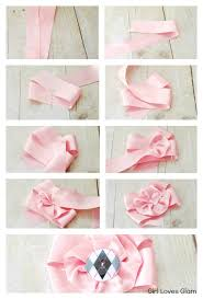 satin ribbon flowers satin ribbon flower tutorial cooking with ruthie