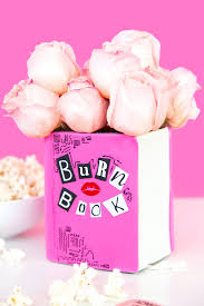 Gun Vase Movie Night Diy Mean Girls Burn Book Vase