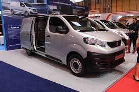 peugeot commercial peugeot expert panel van at the cv show 2016 commercial vehicle