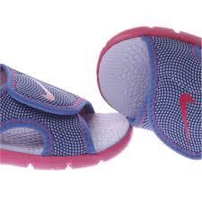 girls pink nike sunray adjust toddler sandals