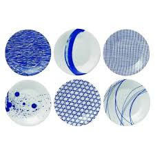 royal doulton pacific tapas plates set of 6 target