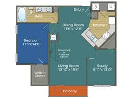 The Lenox Floor Plan 1 3 Bed Apartments Aspire Lenox Park