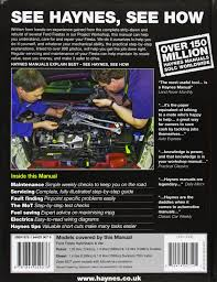 ford fiesta petrol u0026 diesel service and repair manual 2008 to