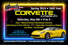 buds corvette buds chevrolet corvette cruise in may the 9th corvetteforum