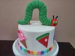 how to the very hungry caterpillar cake tutorial youtube