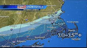 Plymouth Massachusetts Map by How Much Snow Fell In Your Area