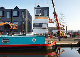 prefab housing customized by residents sprouts up in the u k curbed