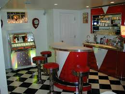 retro rooms retro room custom bar credenza back bar jukebox
