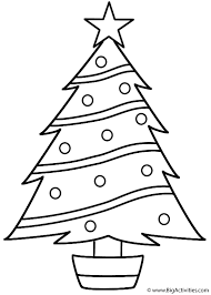 pine tree coloring pages christmas tree coloring page christmas