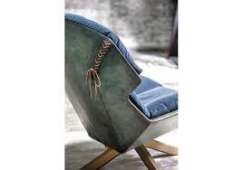 Moroso Armchair Clarissa Moroso Armchair With Wooden Base Milia Shop