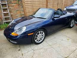 Porsche Boxster Mileage - porsche boxster 1998 convertible low mileage 102k long mot in