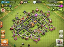 layout coc town hall level 7 base design town hall level 7 9 defensive cakes pinterest cake