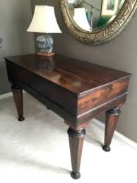 Antique Spinet Desk Executive Townhouse Estate Sale 1 2 Price One Day