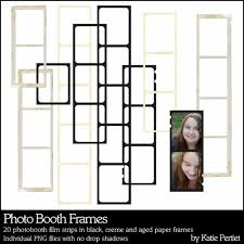 photo booth picture frames photobooth frames pertiet elements el576272 designerdigitals