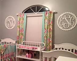 Baby Monogram Wall Decor Dorm Room Monogram Etsy