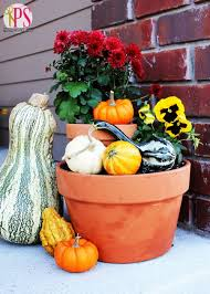 Fall Decorations For Outside The Home 101 Best Fall Harvest Images On Pinterest Fall Harvest Garden