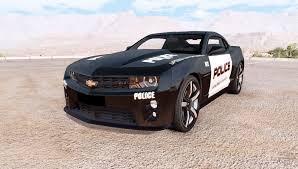 police camaro chevrolet camaro zl1 police for beamng drive
