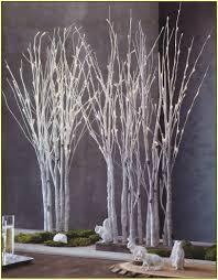 Attracktive Tree Branch Chandelier White Birch Branches Home