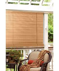 radiance 1 4 in oval pvc indoor outdoor roll up blind hayneedle