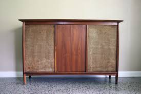 mid century console cabinet mid century stereo console conversion vintage media console bar