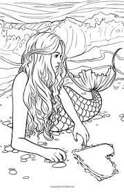printable coloring pages of mermaids mermaid coloring pages for adults glamorous best 25 mermaid coloring