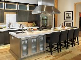 Kitchen Islands With Stove by Kitchen Island With Seating And Stove Tile Backsplash Unfinished