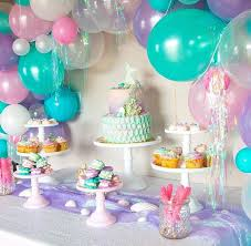 mermaid party supplies 268 best mermaid the sea party theme images on