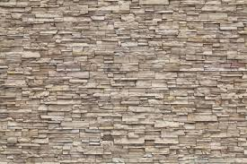 Stone Wall Mural Wall Mural Light Brick Photo Wallpaper Beige Happywall
