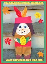 thanksgiving indian craft homeschooled kids online
